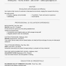 Waiter/waitress Resume And Cover Letter Examples - Resume Samples ... Sample Resume With Job Description For Waiter Waitress Examp Employment Certificate For Best Fast Food Restaurant Luxury Waiters Astonhing Free Builder Templates Sver Objective Complete Guide 20 Examples Werwaitress And Cover Letter Samples Head Digitalprotscom