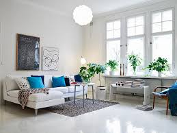 White Granite Floor Tiles Design With Ultra Modern Lamps