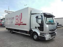 RENAULT Midlum 220. 12 Day Cab Closed Box Trucks For Sale From The ...