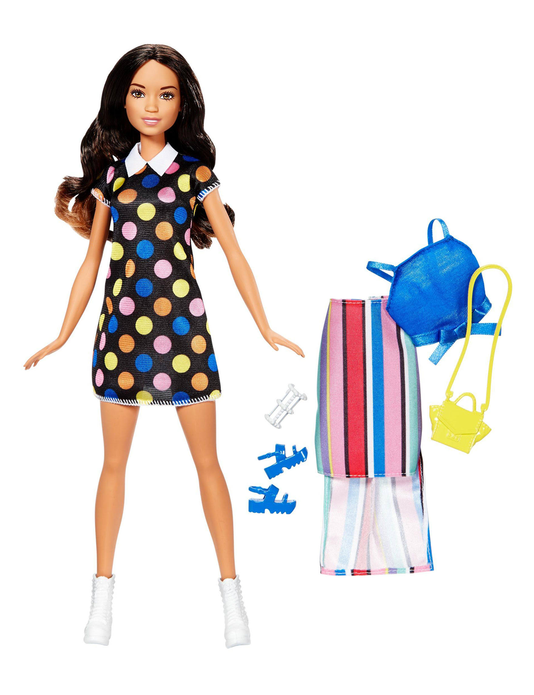 Barbie Fashion Brunette Doll
