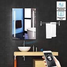 badezimmer spiegelschrank badschrank maja led 12w bluetooth