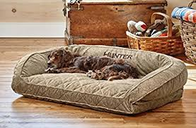 amazon com orvis deep dish dog bed with quilted sleep surface