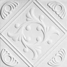 Styrofoam Ceiling Tiles Cheap by Amazon Com Anet White Styrofoam Ceiling Tiles For Glue Up