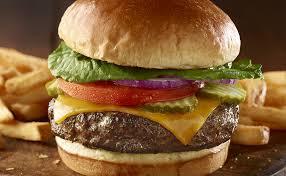 Steakhouse Burger Lunch & Dinner Menu