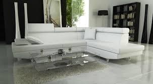 canape cuir blanc angle convenientedu