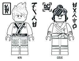 Lego Ninjago Coloring Pages Kids Free Sheets Colouring Kai