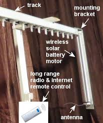 diy drapery motor kit with remote control