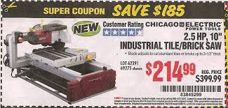 Harbor Freight Electric Tile Cutter by Harbor Freight Tools Coupon Database Free Coupons 25 Percent