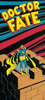 This Respectfully Slight Crop Of A Fox Sherman Panel From November 1940s More Fun Comics 61 Shows The First Version Doctor Fate In His Pomp