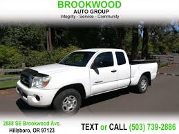 100 Hillsboro Truck Beds Sold 2007 Toyota Tacoma SR5 Access Cab In