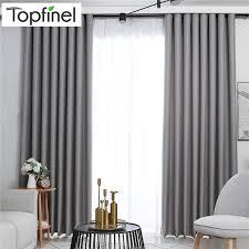 moderne solide blackout vorhänge für bett zimmer wohnzimmer fenster vorhang vorhänge shades fenster behandlungen grau creme lila braun