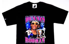 OFFTHEROPE Dennis Rodman T Shirt Image Via