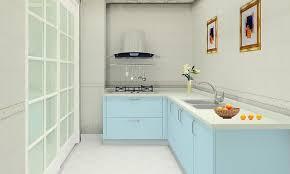 kitchen modern light blue kitchen base cabinet concept with