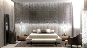 Accent Wall Ideas Bedroom Grey Toned With Pendant Gray Master