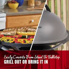 Patio Caddie Electric Grill Manual by Amazon Com George Foreman 15 Serving Indoor Outdoor Electric