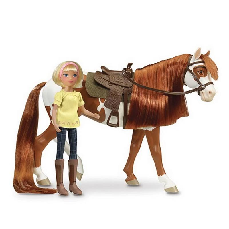 Breyer 9204 Classics Boomerang & Abigail Gift Set, Brown