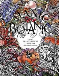Manic Botanic Zifflins Coloring Book By Zifflin Amazon