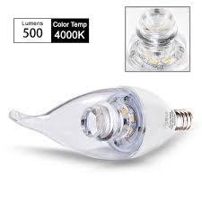 candelabra bulb tgmold dimmable 6watt 60w equivalent candle