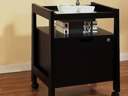 Locking File Cabinet On Wheels by Decor 2 Dark Brown Wooden Decorative File Cabinet Glass