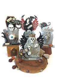 Funny Halloween Tombstones For Sale by Kim Collister Studio The 2017 Tombstone Halloween Swap Is Here