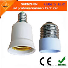 2018 e27 to e14 base led light l bulb adapter converter