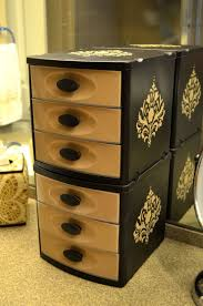 Decorating Fabric Storage Bins by From Functional To Fabulous Plastic Containers Plastic Drawers