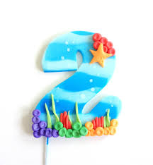 Bubble Guppies Bathroom Decor by Ready To Ship Blue Bubble Guppies Inspired Number Fondant Cake
