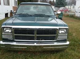 100 Dodge Pickup Trucks For Sale 1993 Green Truck 4x2 Ram 150 Custom For Sale In