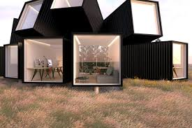 100 Shipping Container Studio James Whitaker Designed Aggregated Shipping Containers To Provide A