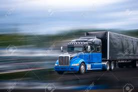 100 Aerodynamic Semi Truck Stylish Black And Blue Big Rig Long Haul Semi Truck With Aerodynamic
