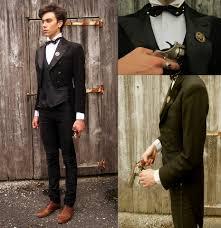 Black Jeans Men Brown Shoes