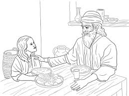 Esther And Mordecai Coloring Page From Queen Category Select 20946 Printable Crafts Of