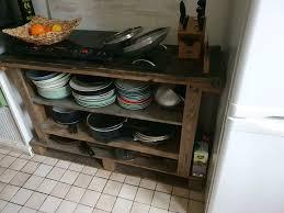 vintage regal selbstgemacht für die küche
