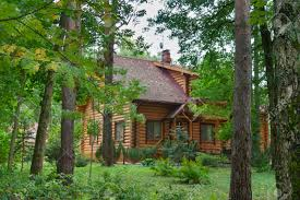 100 House In Forest Country Wooden House In The Forest