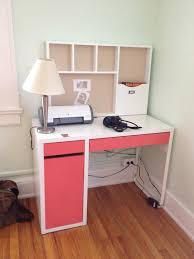 Ikea Corner Desk Ideas by Decorating Lovely Ikea Micke Desk In White With Drawers For Home
