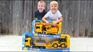 Toy Truck Videos For Children - Toy Bruder Backhoe Excavator, Crane ... Garbage Truck Videos For Children L Bruder Recycling 4143 02771 Bruder Man Fire Engine Br02771 Ebay Toys Side Loading Garbage Truck Orange Best Road Cstruction Toys Mercedesbenz Sprinter Municipal Toy For Children Backhoe Excavator Crane Pretend Play Mack Granite Ups Logistics W Man Timber With 02769 Muffin Songs Mack Dump Cat Wheel Loader By Tga Low Jcb Diecast Amazoncom Mb Arocs Snow Plow Games
