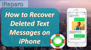 2017 iPhone Message Recovery Recover Deleted Text Messages on