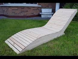 comment faire une chaise longue