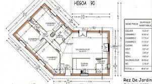 plan maison 90m2 plain pied 3 chambres plan maison 90m2 plainpied 3 chambres affordable beste ideen