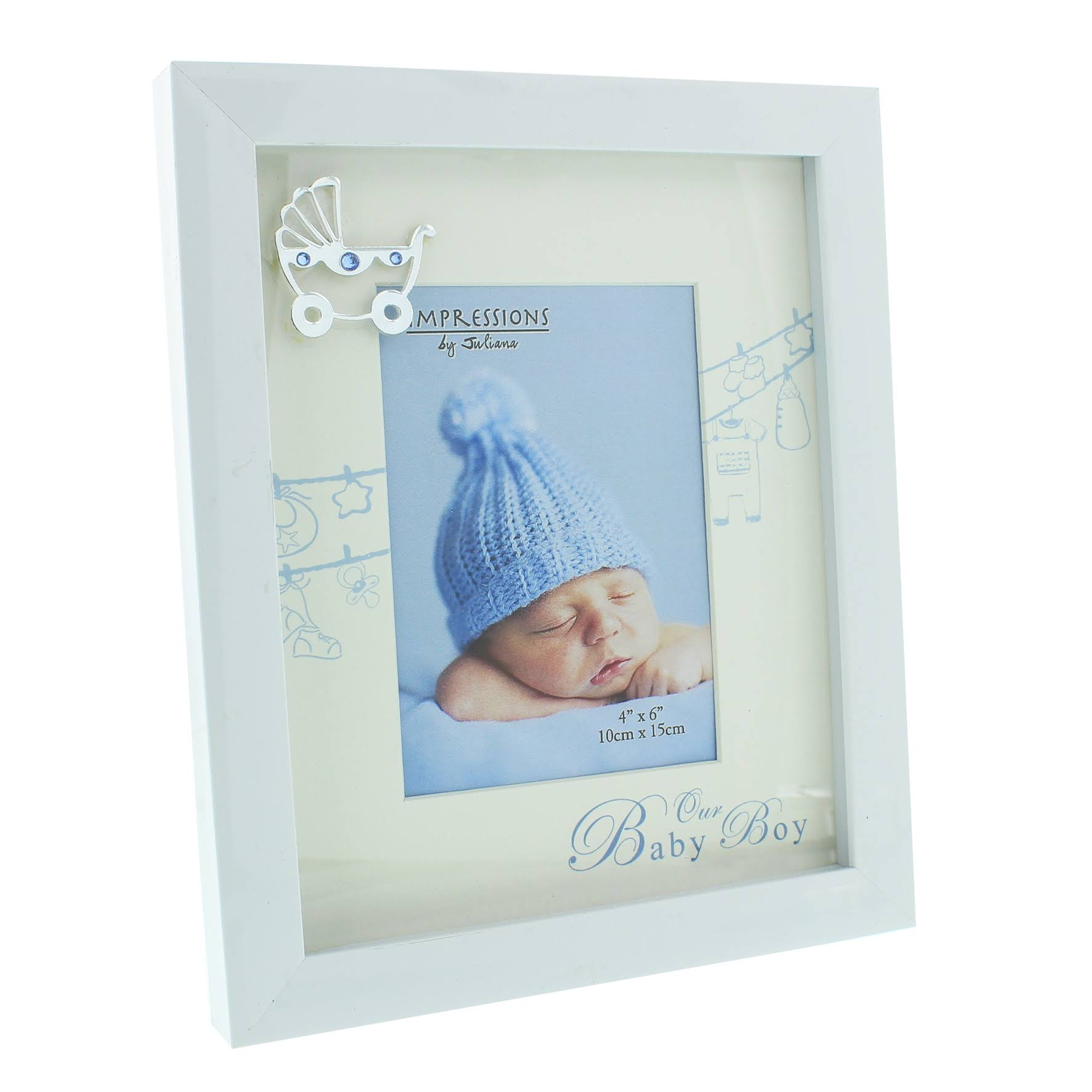 ukgiftstoreonline Baby Boy Photo Frame