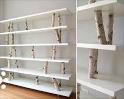 100 Tree Branch Bookshelves Delectable Decorating Design Ideas Image Good