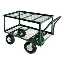 Sandusky 3 5 cu ft 20 in W Utility Cart TW3820 The Home Depot