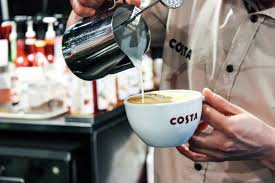 Making The Perfect Flat White With Costa Coffee