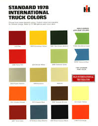 1978 International Truck Colors. Color Charts • Old International ... 66 Chevy C10 To 78 Front Suspension Swap Youtube 1978 Chevrolet Truck Parts Steering Power System 31978 Trucks Gmc Manuals Cd Detroit Iron Intertional Truck Colors Color Charts Old Intertional Nos 1984 Chevy P30 Step Van Wiring Diagram Online Harness Touch Diagrams Pickup Shaft Oem Aftermarket Book Light Duty Ck The Part Guy Heater Ac Controls Professional Choice Djm Suspension Big Ten