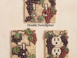 Wine And Grape Kitchen Decor