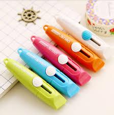 L36 Mini Student School Supplies Stationery Utility DIY Tool Art Knife Crafts Paper Box Wallpaper Cutter