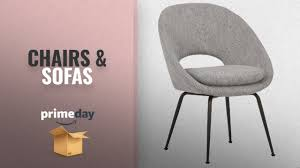 Chairs & Sofas Deals Prime Day 2018: Rivet Modern Upholstered Orb Office  Chair, 24.4