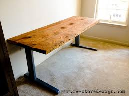 Reclaimed Wood Desk Top Office Furniture Modern Custom Reclaimed Wood Desk Top Diy Onsingularity Com
