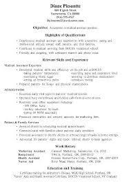 Medical Receptionist Resume Objectives Assistant Job Description Duties Secretary Objective Examples For Professional A