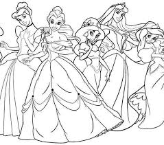 Princess Coloring Pages Disney Princesses Page 2795